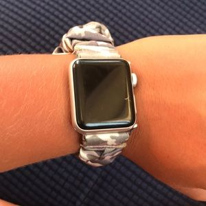 Simply Southern Camo Scrunchie Apple Watch Band